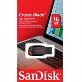 Sandisk Cruzer Blade 16gb Usb Flash Bellek Sdcz50 016g B35