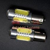 P21w 1156 Ba15s 7.5w Tek Dipli Led Ampul Sarı