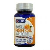 ıqmega Portakal Aromalı Balık Yağı + Sarımsak Yağı 60 Softjel