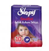Sleepy Bebek Bakım Örtüsü 10lu