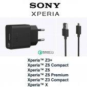 Sony Uch10ru B Z3+ Z3 Z4 Z5c M4 Premium Hızlı Şarj Cihazı Aleti