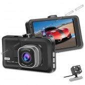 Soloner Sl112 Full Hd 1080 Çift Kamera Araç İçi Güvenlik Kamerası