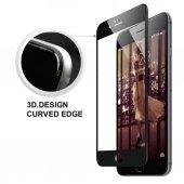 Iphone 6 6s Plus 7 7 Plus 3d Kavisli Tam Ekran Cam Koruyucu