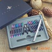 Alman Steel Pen Kaligrafi Seti Metal