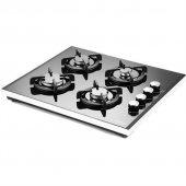 Luxell 40 Tshdf 4 Gözü Gazlı Siyah Cam Doğalgazlı Set Üstü Ocak