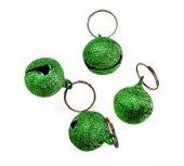 Percell Kedi Köpek Tasma Çanı Yeşil Tekli 1,5*1,5 Cm