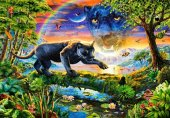 Castorland 1500 Parça Puzzle Panther Twilight