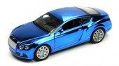 ışıklı Ve Sesli 1 32 Bently Çek Bırak Araba (Metalik Mavi)