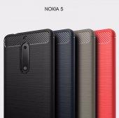 Nokia 5 Armor Duty Sert Silikon Kılıf + Kırılmaz Cam