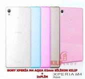 Sony Xperia M4 Aqua 02mm Ultra İnce Silikon Kılıf 2xfilm