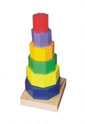 Eksen Ahşap Geometrik Kule