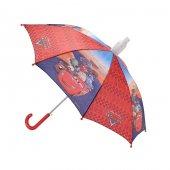 Cars Baston Tip Kırmızı Çocuk Şemsiye (Hakan Çanta 88050)