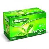 Doğadan Yeşil Çay Bardak Poşet 20li