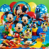 Mickey Mouse 16 Kişilik 13 Parça Doğum Günü Set Midi