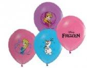 48 Adet Elsa, Frozen Baskılı Balon 12inç Doğum Günü Parti Ucuz