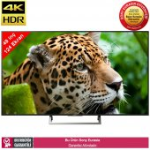 Sony Kd49xe7005 124 Ekran 4k Ultra Hd Led Tv