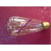 5 Adet Edison Style Rustik Lamba 40w E27 St 64