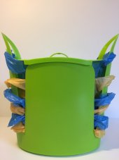 Torbox Çok Amaçlı Çöp Kovası Yeşil