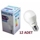 Philips 9w. (70 W.) Essential Led Ampul E27 Duylu Beyaz Işık (12