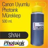 Bitmeyen Kartuş Photoink Canon 500 Ml Siyah Mürekkep