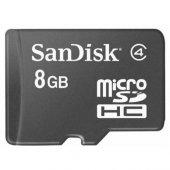 Sandisk Ultra 8 Gb Micro Sd Class 4 Hafıza Kartı 48mb S