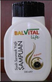 Balvital Siyah Sarımsak Kara Sarımsak Yağlı Şampuan 1 Kutu