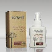 Ecowell Organik Saç Bakım Yağı 200 Ml