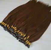 1. Kalite Kahverengi Boncuk Kaynak Saçlar Boncuk Hediyeli