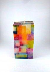 Dekoratif Mum (15*7,5cm) Karma Renk