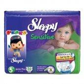 Sleepy Sensitive No 5+ Junior Plus Bebek Bezi 26 Adet