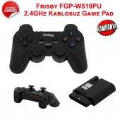 Frisby Fgp W510pu Kablosuz Titreşimli Pc Ps2 Ps3 Uyumlu 2.4ghz Game Pad Oyun Kolu Gamepad Joystick