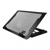 Frisby Fnc 37st Standlı Dizüstü Notebook Laptop Soğutucu 14cm Fanlı Notebook Cooler Yeni Seri 5x Kademeli Soğutucu Standlı 10 İle 17 İnc Arası Uyumlu