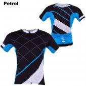 Exuma 161 200 Bisiklet Forma Siyah Mavi (M)