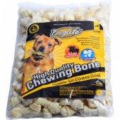 Dog Life Beyaz Düğüm Kemik Köpek Kemirme 10 Gr X 100 Adet