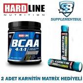 Hardline Bcaa 4 1 1 300 Gr. + 2 Adet Karnitin Matrix 30 Ml Hediye