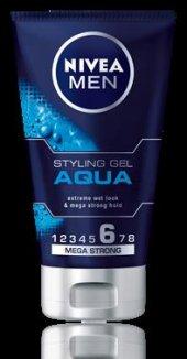 Nivea Men Styling Gel Aqua Islak Görünüm 150 Ml