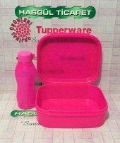 Tupperware Eko Şişe 310 Ml Ve Beslenme Kutusu(Saklama Kabı) Has