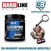 Hardline Glutapure 500 Gr. + 3d Maskot Anahtarlık Hediyeli
