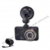 Soloner Sl95 Fullhd 1080p Çift Kamera Araç İçi Güvenlik Kamerası