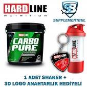Hardline Carbopure 4000 Gr. + 1 Shaker + 1 3d Logo Anahtarlık Hed