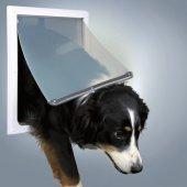 Trixie Flap Köpek Kapısı Çift Yönlü Kilitleme M Xl Beyaz