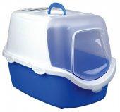 Trixie Karbon Filtreli Kapalı Kedi Tuvaleti 40x40x56cm Mavi