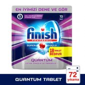 Finish Quantum Bulaşık Makinesi Tableti 72li