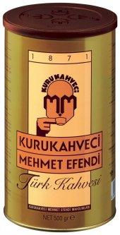 Mehmet Efendi Türk Kahvesi 500 Gr. Teneke Kutu