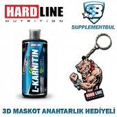 Hardline L Karnitin Thermo 1000 Ml + 3d Maskot Anahtarlık Hediyel