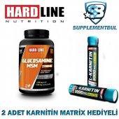 Hardline Glucosamine Msm 120 Tablet + 2 Adet Karnitin Matrix 30 M