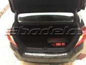 Honda Yeni Civic Bagaj İçi Koruma Paspası Havuzlu 3d Araca Özel