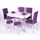 Mutfak Masası Takımı Masa Sandalye Tabure Seti