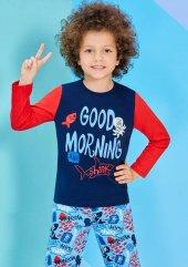 Roly Poly 1200 1 4 Yaş Uzun Kol Erkek Çocuk Pijama Takım