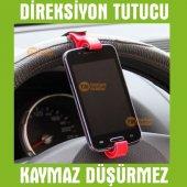 Direksiyon Arası Oto İçi Telefon Tutucu Cep Telefonu Tutacağı